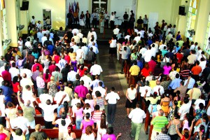 The Methodist Church of Marianao in Cuba. Photo courtesy of the Florida Annual Conference of The United Methodist Church.