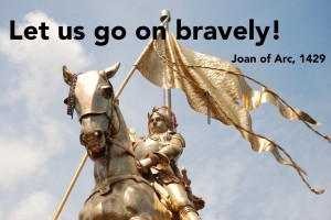 Joan of Arc on Decatuer Street