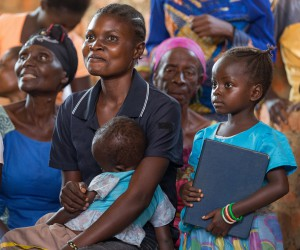 Parishioners at Nazareth United Methodist Church in Kindu, Democratic Republic of Congo. Photo by Mike DuBose, UMNS.