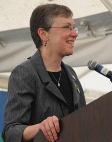 Harriet Olson CEO of UMW. Photo by John Goodwin.