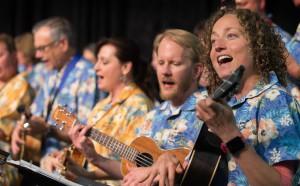 Grace Avenue Ukulele Choir. Photo by Mike DuBose, UMNS.