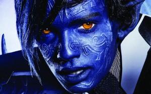 Kodi Smit-McPhee portrays Nightcrawler in X-Men: Apocalypse (Twentieth Century Fox).