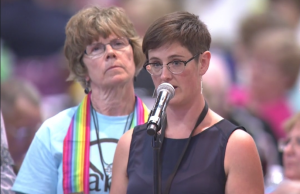 "The Rev. Anna Blaedel: ""I am a self-avowed practicing homosexual."""