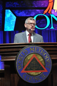 Dr. Ted Campbell. Photo courtesy of the World Methodist Council.